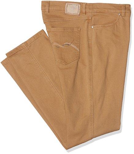Toni Damen Slim Jeans (Schmales Bein) Belmonte Cs Beige (camel 075)