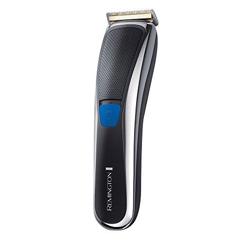 Remington PrecisionCut Titanium Plus Haarschneider HC5700, mit AcuAngle Klingen, Turboboost-Funktion, Netz-Akku, schwarz