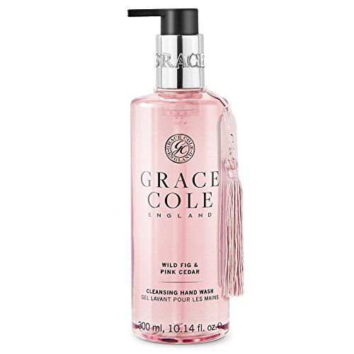 Savon liquide de 300 ml par Grace Cole - Cèdre sauvage et figue sauvage