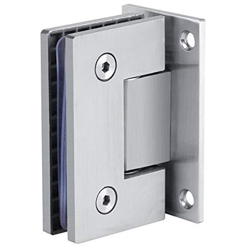 REFURBISHHOUSE 90 Grad Stahl Tür Scharniere 8-10Mm Glas Dusche Tür Scharniere Für Haus Bad M?bel Scharniere Halterung Rahmenlos