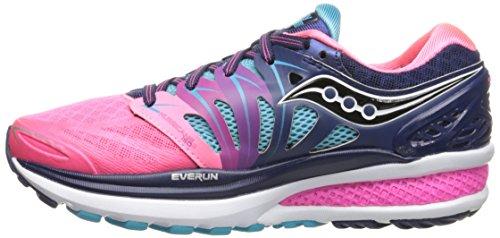 Saucony Hurricane ISO 2, Chaussures de Running Femme Violet (Bleu/Rose)