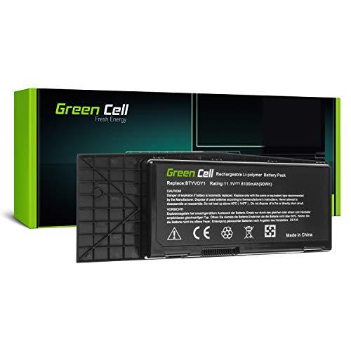 GC® Laptop Akku für Dell Alienware M17x R3 R4 (8100mAh 11.1V Schwarz) Alienware M17x Laptop
