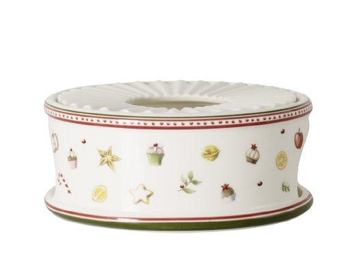 Villeroy & Boch 14-8612-7897 Réchaud Winter Bakery delight Arts de la Table de Noël Porcelaine Multicolore 24,5 x 24,5 x 12,5 cm