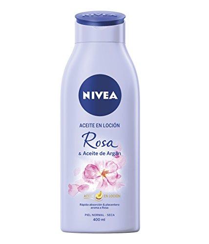 NIVEA Aceite Loción Rosa & Aceite Argán 1 x 400