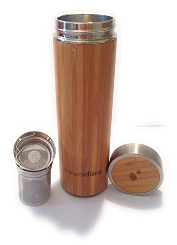 Natural Filling thermos bambou sans bpa