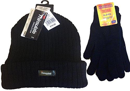 thinsulate-rs162b-ensemble-bonnet-et-gants-disolation-thermique-pour-homme-noir
