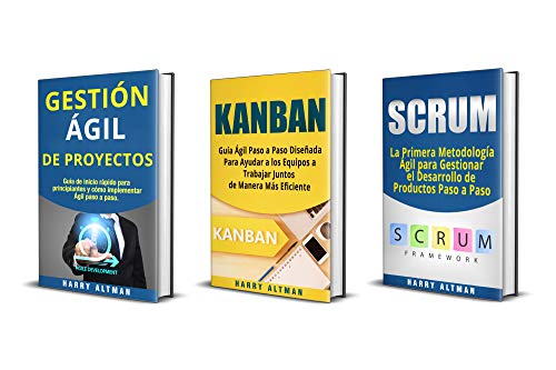AGIL: 3 Libros - Gestion Ágil de Proyectos, Kanban, Scrum eBook ...