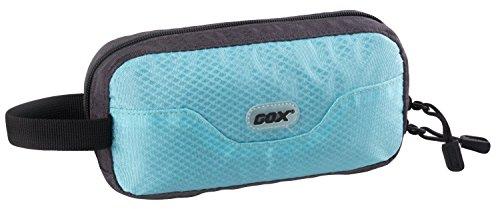 Beauty Case da Viaggio da Appendere, GOX Premium Large Size 420D Nylon Impermeabile Portatile Toilette Sacchetto / Borsa da Toilette / Organizzatore di Viaggi con Gancio (Large, Cielo blu)