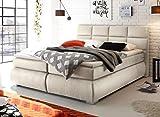 Froschk nig24 Kosali 180x200 cm Boxspringbett Bett mit Bettkasten Beige, Ausf hrung Variante 3