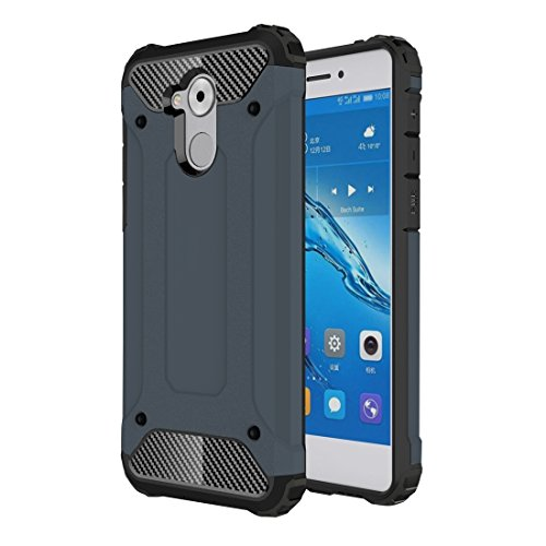 GHC Cases & Covers, für Huawei Enjoy 6s Rüstung TPU + PC Kombination Fall ( Color : Dark blue ) (Iphone 5c Fällen Wie Speck)
