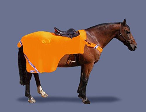 Image of GEE TAC HORSE RUG WATERPROOF HI VIZ VIS RIDE ON EXERCISE SHEET WRAP ROUND ALL SIZES