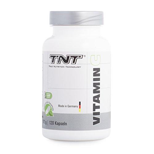 Vitamin C von TNT | Vitamin C Tabletten, hochdosiert | Hochwertige Nahrungsergänzung |...