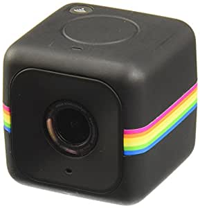 Polaroid Cube+ Live Streaming 1440p Mini Lifestyle Action Camera with Wi-Fi & Image Stabilization (Black)