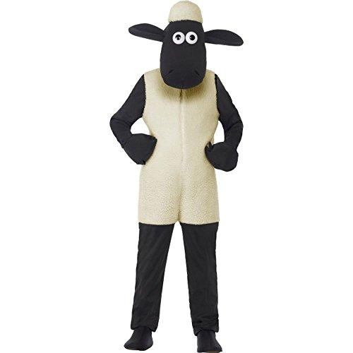 Kinder Shaun Das Kostüm Schaf - Kinder Kostüm Shaun das Schaf Lamm Karneval Fasching Gr.7 bis 9 J.