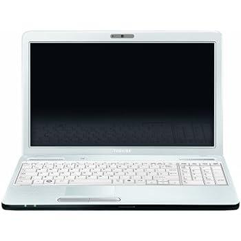 """Toshiba Satellite C660-246 Ordinateur Portable 15,6"""" Intel Core i3-2310M 750 Go RAM 4096 Mo Windows 7 Edition Premium Carte graphique Nvidia GeForce 315M Texture Blanc"""