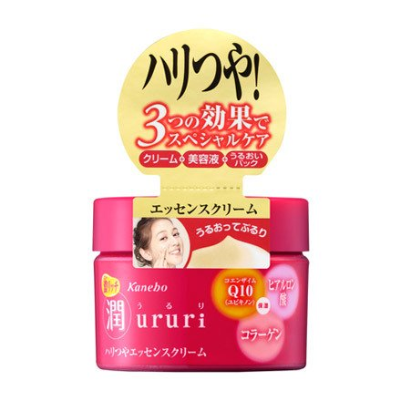 Kanebo Ururi Moist Rich Essence Cream - 200ml