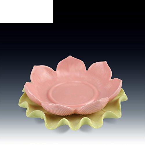 dha Kerzenhalter religiöse Buddha Outfit Lotus Kerze Halter Dekoration-A ()