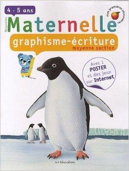Graphisme-écriture, moyenne section de Marion Billet (Illustrations),Mélusine Allirol (Illustrations) ( 5 janvier 2010 )
