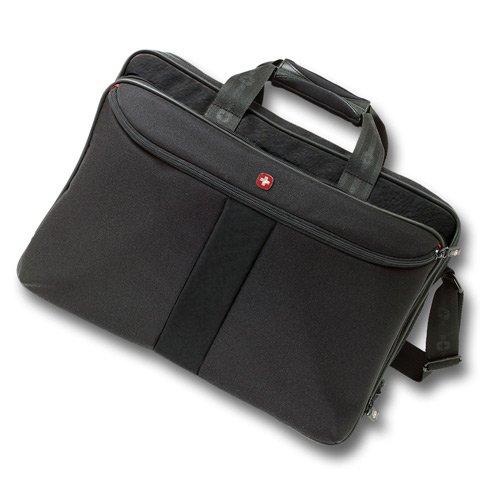 Wenger Coral - Maletín para ordenador portátil, negro