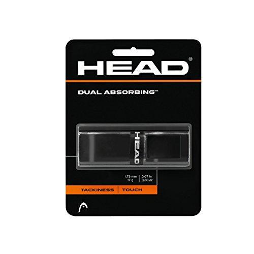 HEAD Dual Absorbing schwarz Basisgriffbänder, One Size