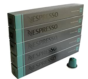 nespresso kapseln gr n 50 kaffeekapseln 5 x 10 kapseln fortissio lungo lebensmittel. Black Bedroom Furniture Sets. Home Design Ideas