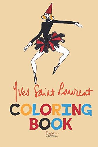 Yves Saint Laurent Coloring Book por Yves Saint Laurent