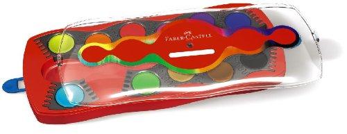 Faber-Castell 125030 - Farbkasten CONNECTOR mit 12 Farben, inklusive Deckweiß - 3