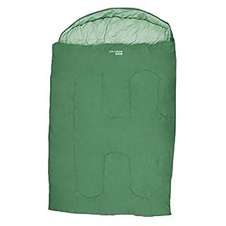 Yellowstone Ashford Double 300 Sleeping Bag - Green