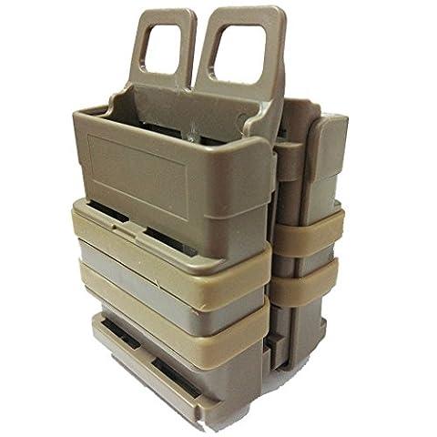 Tactical Airsoft Rifle Double Fast Attach 5.56 MAG Magazintasche für