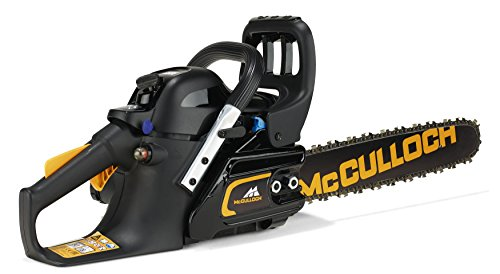 McCulloch CS 35S Petrol Chainsaw: 35cc, 14 Inch Bar Length, 52 Drive Links, Anti-Vibration System, Low Weight, Fully…