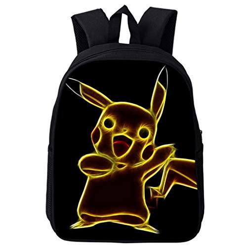 Gucili Kinder Rucksack, 16-Zoll Cartoon Anime Big Detective Kindergarten Daypack Jungen Mädchen Outdoor Reiserucksack Wearable Lightweight Bag,06 (Jungen Anime Mädchen Und)