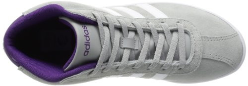 adidas - Vlneo Court Mid W, - Donna GRAY WHITE