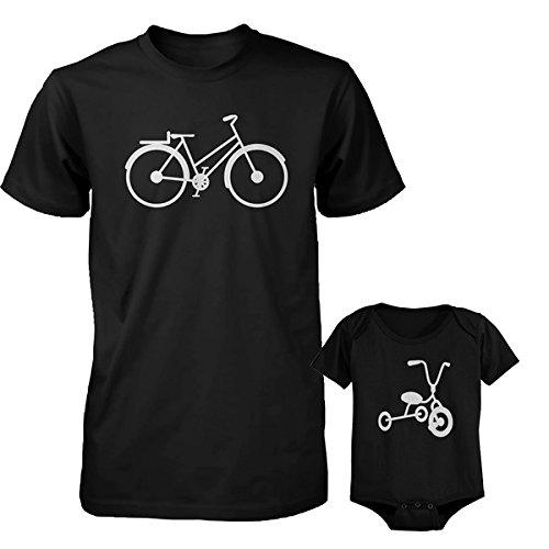 bicicleta-daddy-triciclo-camisa-y-juego-de-pijama-para-bebe-traje-regalo-del-dia-de-padre