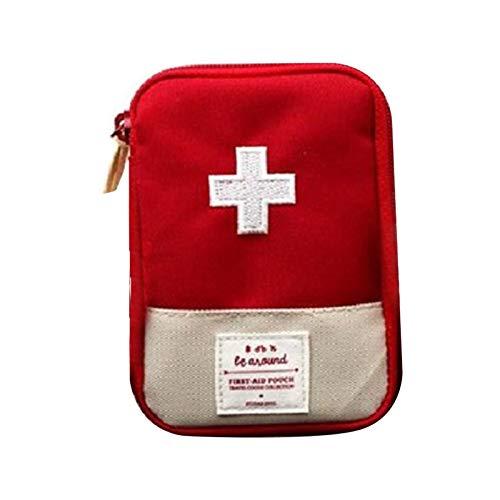 YUANZHOU Tragbare leere Erste-Hilfe-Tasche - reisende medizinische Ausrüstung Kleine Erste-Hilfe-Notaufbewahrungstasche für zu Hause, Überleben im Freien