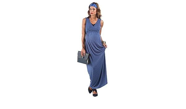 dc1dcf7b666d The Essential One – vestito lungo per allattamento. Multi Large  Amazon.it   Abbigliamento