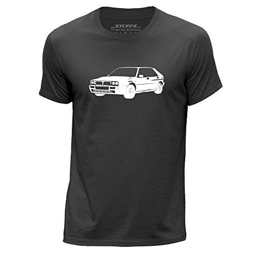 stuff4-hommes-xxx-grande-3xl-gris-fonce-col-rond-t-shirt-stencil-art-voiture-delta-hf-16v