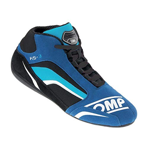 OMP OMPIC/81324143 Schuhe KS-3 Blau/Schwarz/ Cyan Größe 43