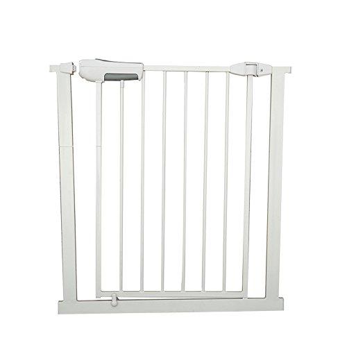 YNN La porte de sécurité d'escalier d'escalier de barrière d'animal familier de porte d'escalier de barrière d'animal familier adaptent la largeur de porte de 65-72cm (taille : 181-184(+56+56CM))