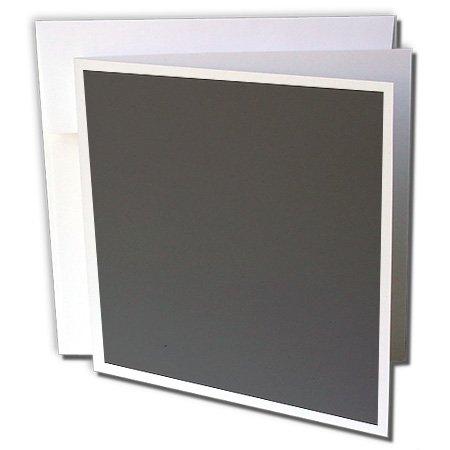 3drose grau Solides Dunkles Anthrazit Bild von Hue-Grußkarten, 15,2x 15,2cm, Set 12(GC 163484_ 2)