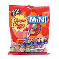 Chupa Chups Mini 22 Assorted Lollipops Packet, 132g