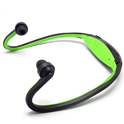 Captcha W200 Sports MP3 Player with Wireless FM and Micro SD Card Slot (Green)  available at amazon for Rs.249