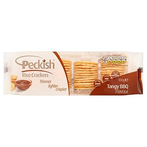 Peckish Spritzig Grillreiscracker Behälter 5 x 20g (Cracker Tray)