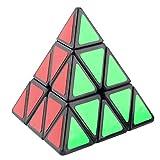 SeniorMar MOYU Pyraminx Triangolare Piramide a forma di velocità Magic perplesso Cube Nero / Bianco Vendita in tutto il mondo