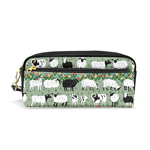 Sheep Stripe_159 Sacchetti cosmetici Astuccio portatile da viaggio Trucco Organizer Borse multifunzione per le donne