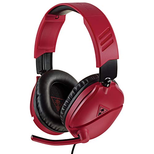 Turtle Beach Recon 70N Rosso Cuffie Gaming - Nintendo Switch, PS4, Xbox One e PC