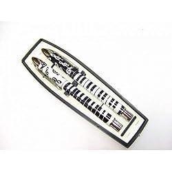 &Note de Musique-Piano-Stylo roller encre Gel-un stylo à bille unique
