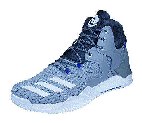 adidas D Rose 7Herren Basketball Schuhe, Grau–(grpuch/Ftwbla/grpudg) 50