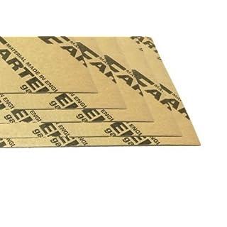 5x ARTEIN Dichtungspapier Dichtpapier Papier 0,15 x 195 x 475mm dünn