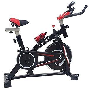 ISE Profi Indoor Cycle Ergometer Heimtrainer mit LCD...