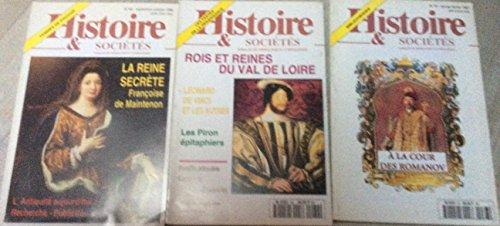 3 numéros Histoire & Sociétés, Annales de Généalogie & d' Héraldique : N° 62/65 & 67 (1996/97) par HSAGH